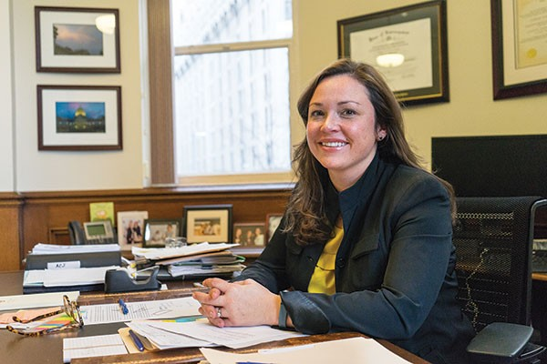 Allegheny County Controller Chelsa Wagner - PHOTO BY AARON WARNICK