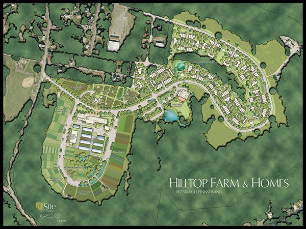 The Hilltop Alliance Hilltop Farm Master Plan - IMAGE COURTESY OF THE HILLTOP ALLIANCE