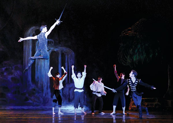 Pittsburgh Ballet Theatre's Peter Pan - PHOTO COURTESY OF RICH SOFRANKO