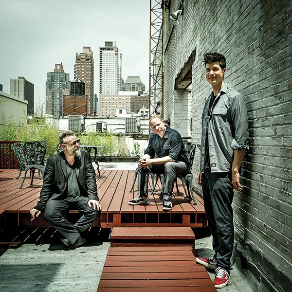 From left, Mat Maneri, Craig Taborn and Ches Smith - PHOTO COURTESY OF PAOLO SORIANI / ECM RECORDS