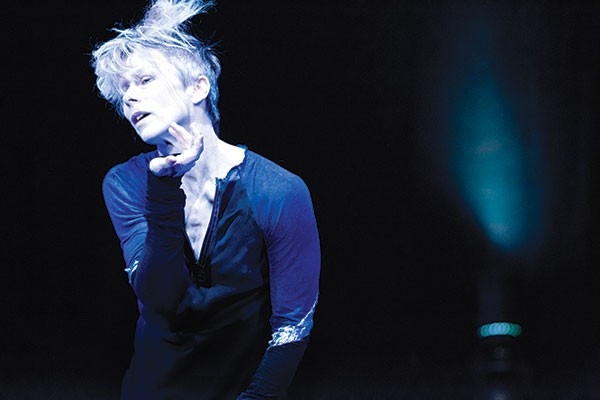 Louise Lecavalier in So Blue - PHOTO COURTESY OF ANDRÉ CORNELLIER