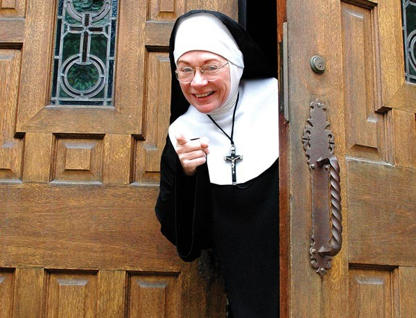 Kimberly Richard stars in Sister's Easter Catechism - PHOTO COURTESY OF CITY THEATRE