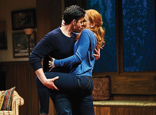 Nick Ducassi and Megan Byrne in City Theatre's Sex With Strangers