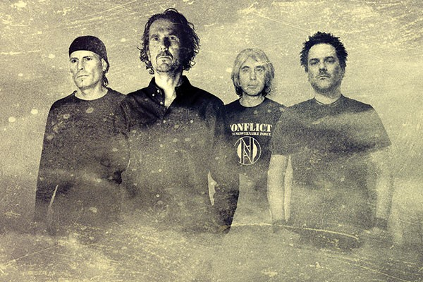 Homecoming: Tau Cross (Rob Miller, second from left)