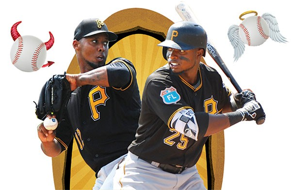 Juan Nicasio and Gregory Polanco