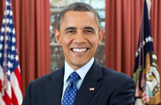 OFFICIAL WHITE HOUSE PORTRAIT FROM WHITEHOUSE.GOV