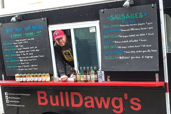 Bulldawgs is one of many food trucks that will be serving at Food Truck-a-Palooza on May 21