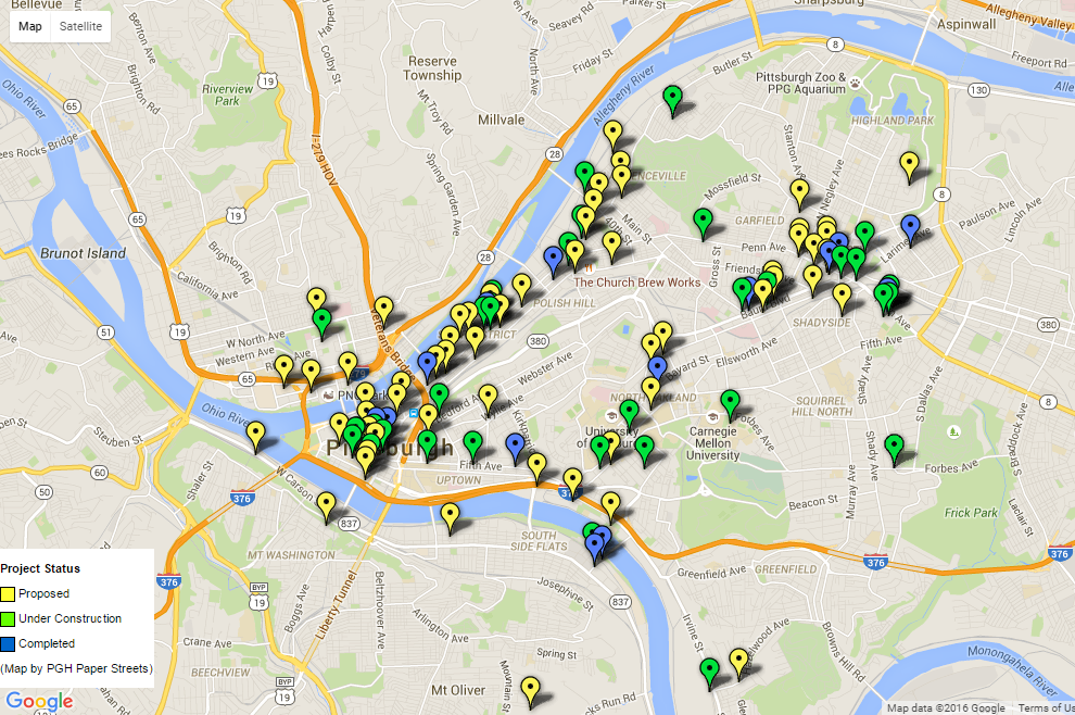 Pittsburgh educator creates online map to track city's development on