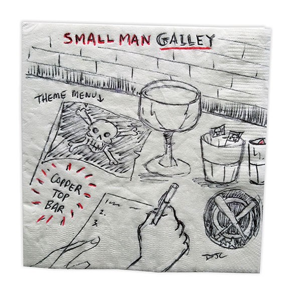 BAR NAPKIN ILLUSTRATION BY D.J. COFFMAN