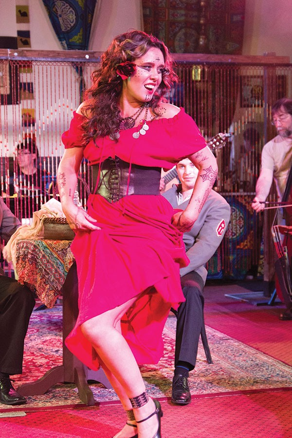 Kara Cornell in Carmen the Gypsy, at SummerFest