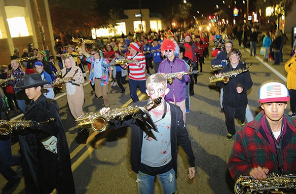 Bloomfield Halloween Parade - PHOTO BY LUKE THOR TRAVIS