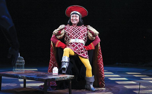 Benjamin Howes in Pittsburgh CLO's Shrek The Musical