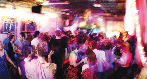 An Illegal Queers dance party held in March 2016