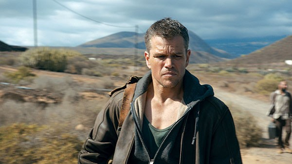 Matt Damon is the world's saddest spy