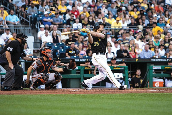 Pittsburgh Pirates first baseman John Jaso