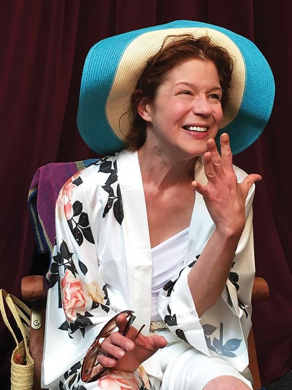 Karen Baum in Shirley Valentine at PICT Classic Theatre