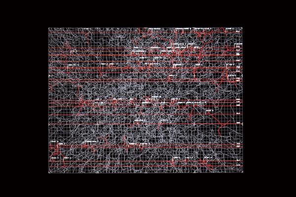 Ryoji Akeda's Data.matrix, Sept. 23 at Wood Street Galleries