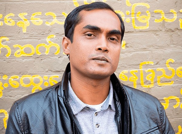 Tuhin Das at City of Asylum, Sept. 22