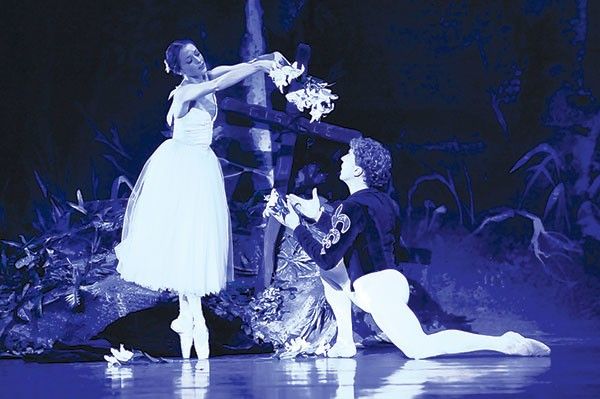 Alexandra Kochis and Christopher Budznyski in Pittsburgh Ballet Theatre's Giselle