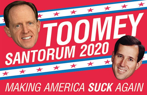 Pat Toomey and Rick Santorum