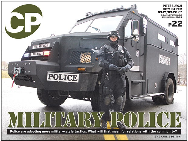 March 31, 2007 cover story on military police