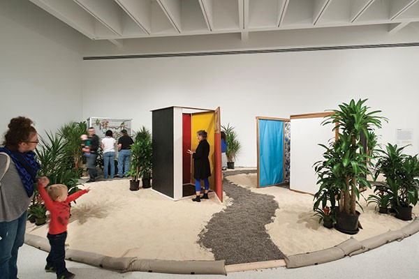 Step inside: installation view of Hélio Oiticica: To Organize Delirium