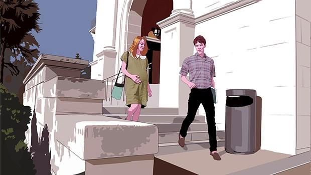 Claire Wilson and her boyfriend, Thomas Eckman