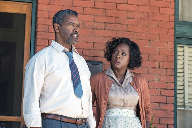 Life on the hill: Denzel Washington and Viola Davis