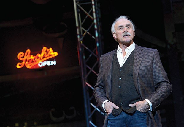 Rocky Bleier in The Play at Pittsburgh Public Theater