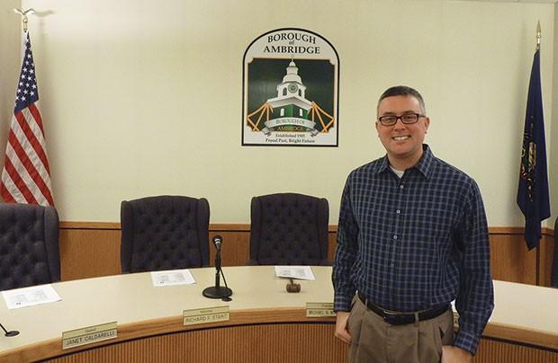 Ambridge Borough Manager Joe Kauer - CP PHOTO BY RYAN DETO