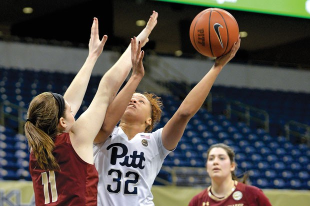University of Pittsburgh vs. Boston College in January 2017 - CP PHOTO BY JOHN HAMILTON