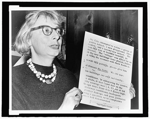 Jane Jacobs, in action