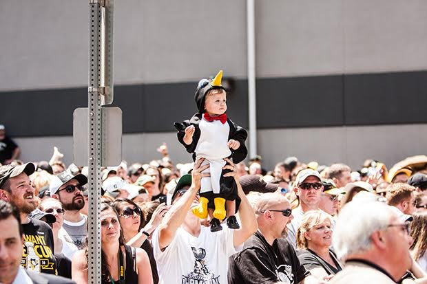 Pittsburgh Penguins Stanley Cup championship parade, 2016. - CP PHOTO BY  LUKE THOR TRAVIS