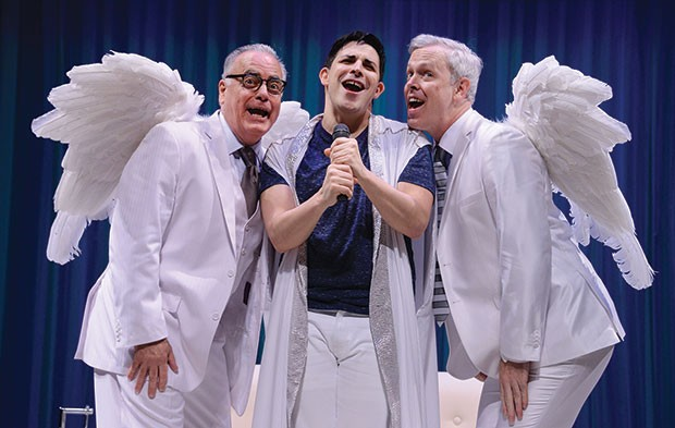 Left to right: John Shepard, Marcus Stevens and Tim McGeever in An Act of God