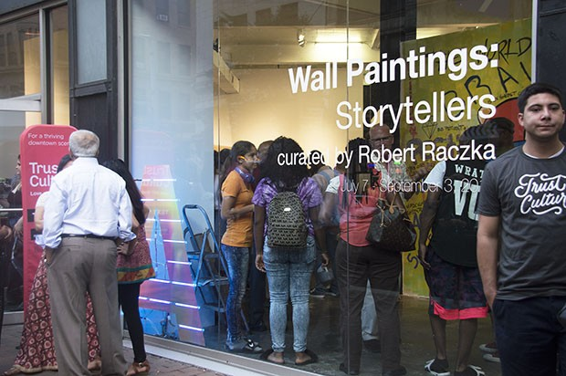 Wall Paintings: Storytellers