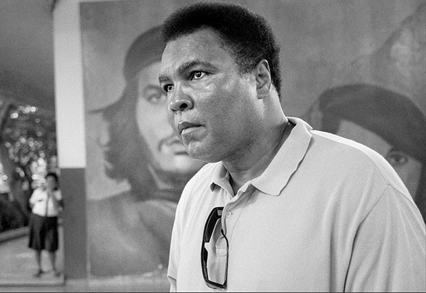 Ali in 1998 in Havana, Cuba - PHOTO COURTESY OF DAVID TURNLEY