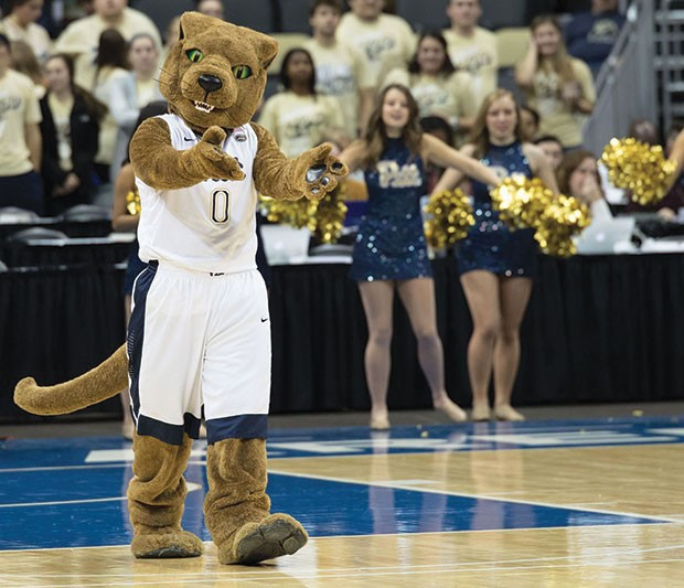 The Pitt Panther - CP PHOTO BY LUKE THOR TRAVIS