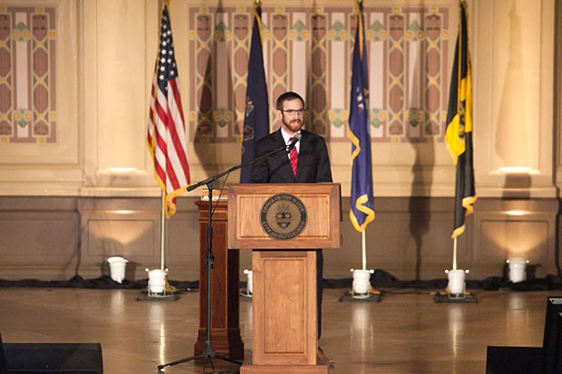 Pittsburgh City Councilman Dan Gilman, who is taking over as Peduto's new chief of staff