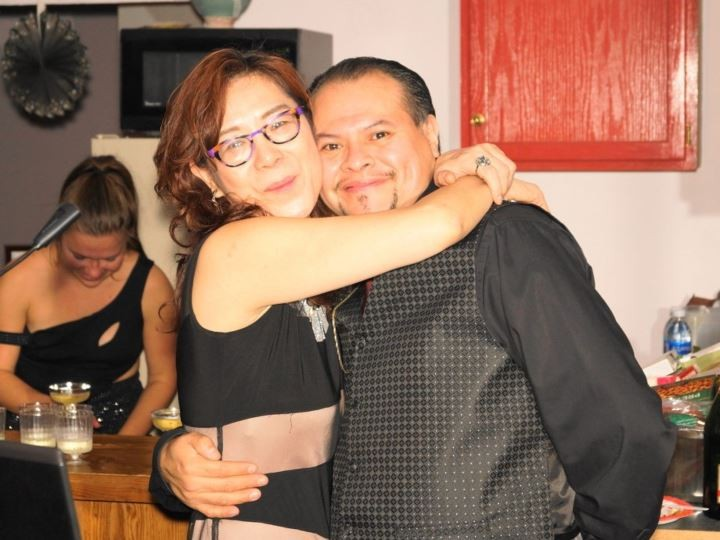 Vicente Sandoval (right) - PHOTO COURTESY OF YOUCARING