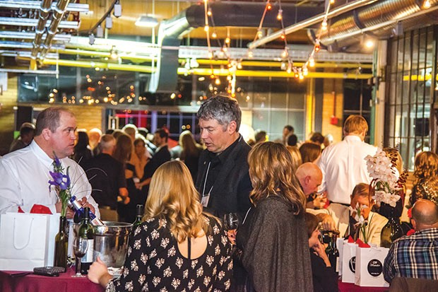 Guests socialize at the Wine Share. - CP PHOTO BY VANESSA SONG