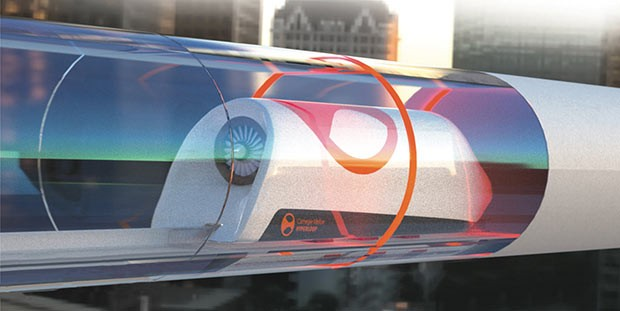 Carnegie Mellon University's hyperloop design - IMAGE COURTESY OF CMU HYPERLOOP