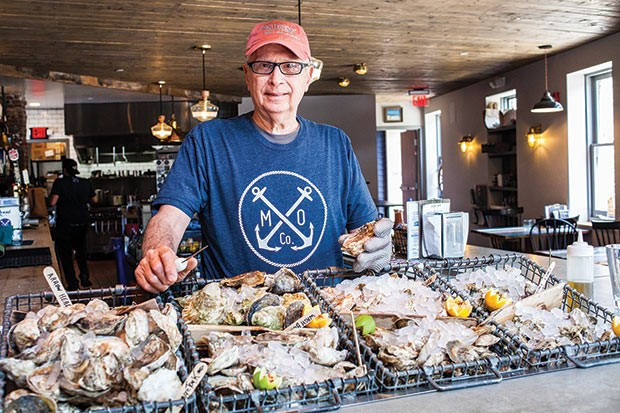 Angelo Galioto, the oyster aficionado at Merchant Oyster Co. - CP PHOTO BY VANESSA SONG