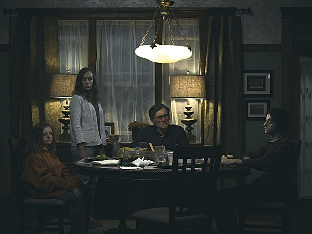 Family time in Hereditary - PHOTO COURTESY OF A24