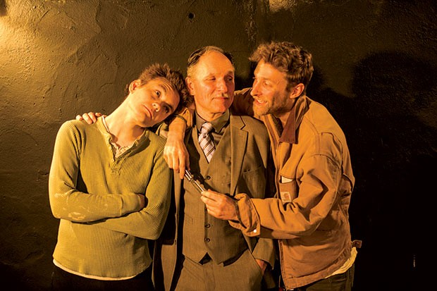 Dylan Marquis Meyers, Ken Bolden and Max Pavel in Orphans - PHOTO COURTESY OF MAX PAVEL