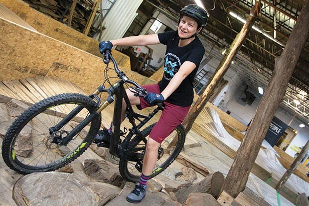 Ride Like a Girl coach Karen Brooks - CP PHOTO BY SARAH WILSON