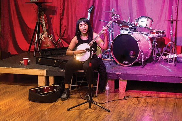 The Childlike Empress performing at The Glitter Box Theater - CP PHOTO BY JAKE MYSLIWCZYK