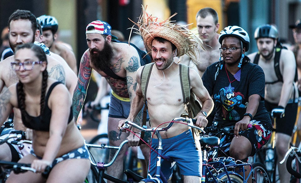 Underwear Bike Ride - CP PHOTO BY LUKE THOR TRAVIS