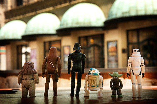 The cast of Star Wars arrives at Heinz Hall - CP PHOTO ILLUSTRATION BY JARED WICKERHAM