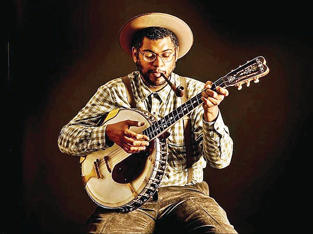 Dom Flemons - PHOTO COURTESY OF TIMOTHY DUFFY