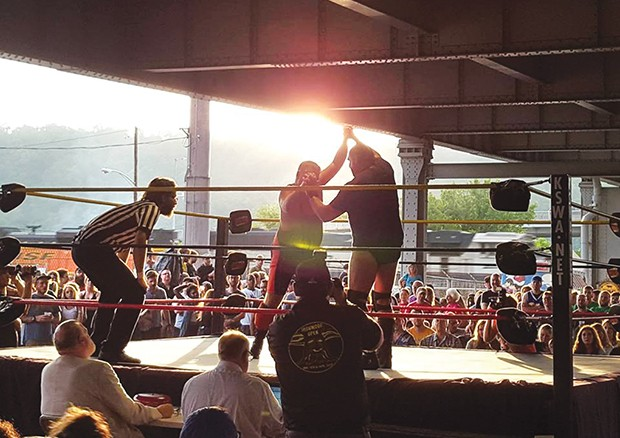 Brawl Under the Bridge - PHOTO COURTESY OF FRANK CUNNIFF